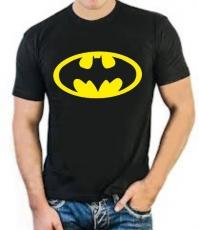 """Футболка стрейч """"Бэтмен"""" фото"""