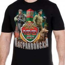 Футболка 100 лет Пограничным войскам фото