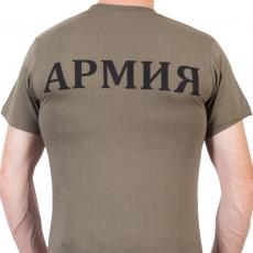Футболка «Армия» хаки фото