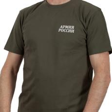 Футболка «Армия России» хаки фото