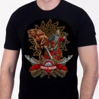 """Патриотическая футболка """"Вместе победим"""""""