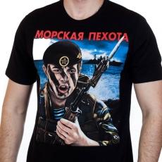 """Футболка """"Морпех"""" Морская Пехота фото"""