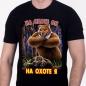 """Прикольная футболка для охотника """"На охоте я..."""" фотография"""
