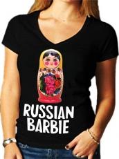 """Футболка женская """"Russian Barbie"""" фото"""