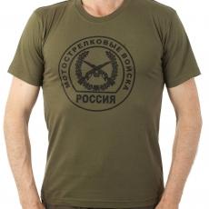Футболка с эмблемой Мотострелковых войск фото