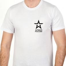 Футболка с эмблемой Российской Армии фото