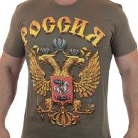 Футболка Россия с гербом