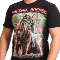 Футболка с Путиным на медведе фото