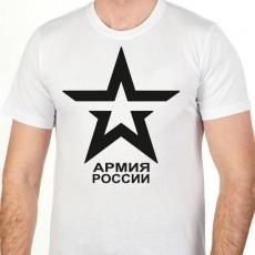 """Футболка """"Символ Армии России"""" фото"""