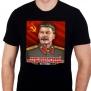 """Футболка """"Сталин И.В."""" """"Наше дело правое! Победа будет за нами"""""""