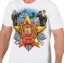 Белая футболка Пограничнику на 100 лет ПВ России