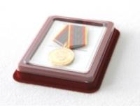 Футляр для медали d-32 мм с удостоверением