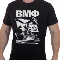 Мужская футболка с принтом ВМФ  фото