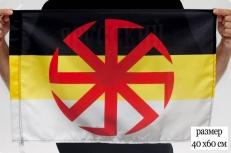 Имперский флаг с Коловратом 40Х60 фото
