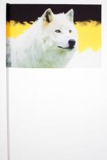 Имперский флажок на палочке «Волк» фото