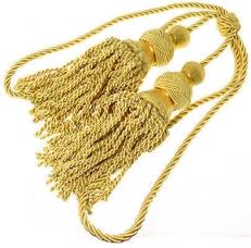 Кисти для знамени (золото) фото