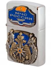 """Коллекционная зажигалка """"МЧС России"""" бензиновая фото"""