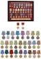 """Планшет """"Медали СССР"""" (52,0x40,0 см) с открывающейся крышкой. В комплекте - муляжи 28-ми наград, вручавшихся в период Великой Отечественной войны фотография"""
