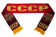 Шелковый шарф СССР со знаком