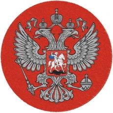 Красный шеврон Герб России фото