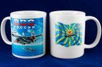 """Кружка """"ВВС"""" """"СУ-30"""""""