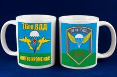 """Кружка """"76 гвардейская воздушно десантная дивизия"""" фото"""