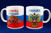 Кружка с символикой России