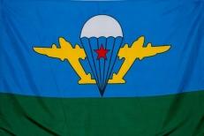 """Флаг """"ВДВ СССР"""" """"Белый купол"""" фото"""