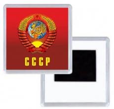 Магнитик СССР с гербом фото