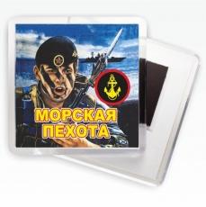"Магнитик ""Черноморская морская пехота"" фото"