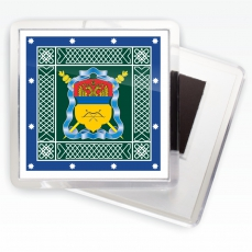 Магнитик «Оренбургское казачье войско» знамя фото