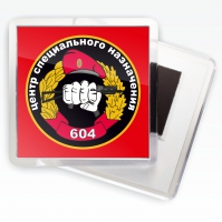 Магнит Спецназ ВВ Центр 604
