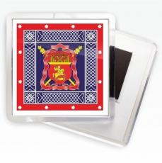 Магнитик «Центральное казачье войско» знамя фото