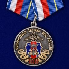"""Медаль """"100 лет Финансовой службе МВД России"""" фото"""