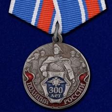 Медаль 300 лет Полиции РФ фото
