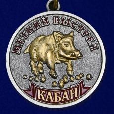"""Медаль """"Кабан"""" (Меткий выстрел) фото"""