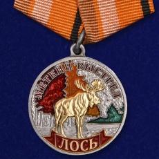"""Медаль """"Лось"""" (Меткий выстрел) фото"""