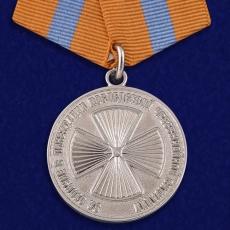 Медаль МЧС «За отличие в ликвидации последствий ЧС» фото