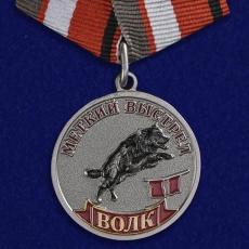 """Медаль """"Волк"""" (Меткий выстрел) фото"""