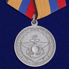 Медаль МО РФ «За отличие в учениях» фото