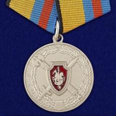 """Медаль """"За заслуги в обеспечении законности и правопорядка"""" фото"""