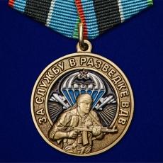 """Медаль """"За службу в разведке ВДВ"""" фото"""