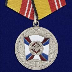 Медаль МО «За воинскую доблесть» 2 степень фото