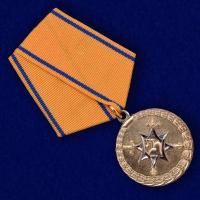 Медаль МВД России За смелость во имя спасения