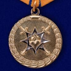 Медаль МВД России За смелость во имя спасения фото
