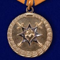 """Медаль """"За смелость во имя спасения"""" МВД России"""