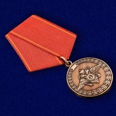 Медаль МВД России «За воинскую доблесть» фото
