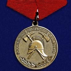 Медаль Российского пожарного общества «За образцовую службу» фото