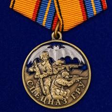 """Медаль """"Спецназ ГРУ""""(Родина, Долг, Честь) фото"""
