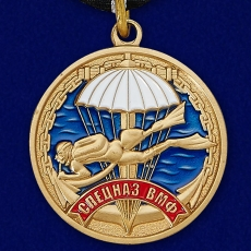 Медаль Спецназа ВМФ «Ветеран» фото